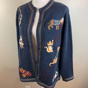 Bechamel Dog Cat Cardigan Sweater Large